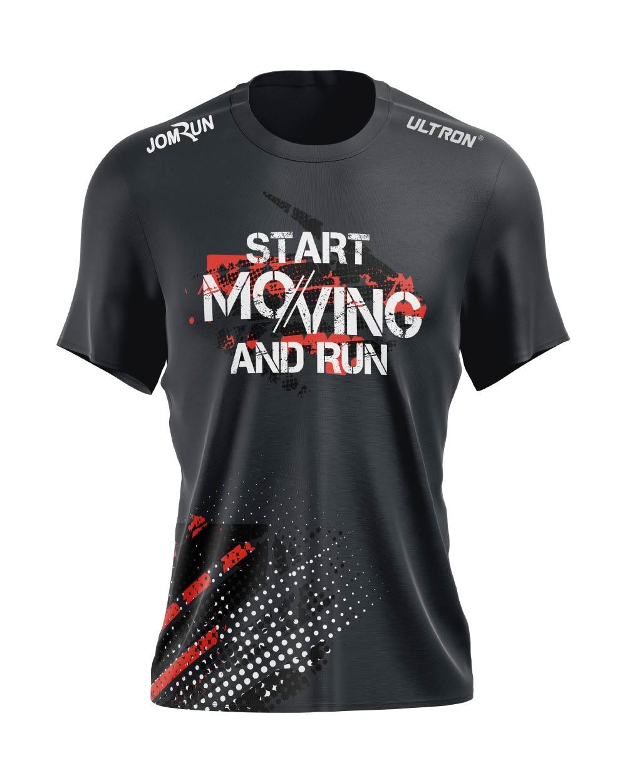 JomRun X Ultron Start Moving And Run Top