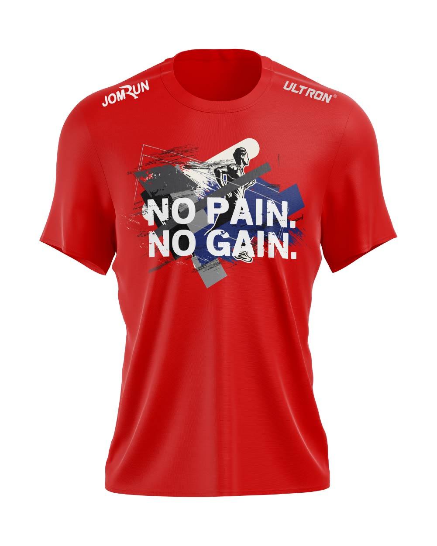 JomRun X Ultron No Pain No Gain Red Top