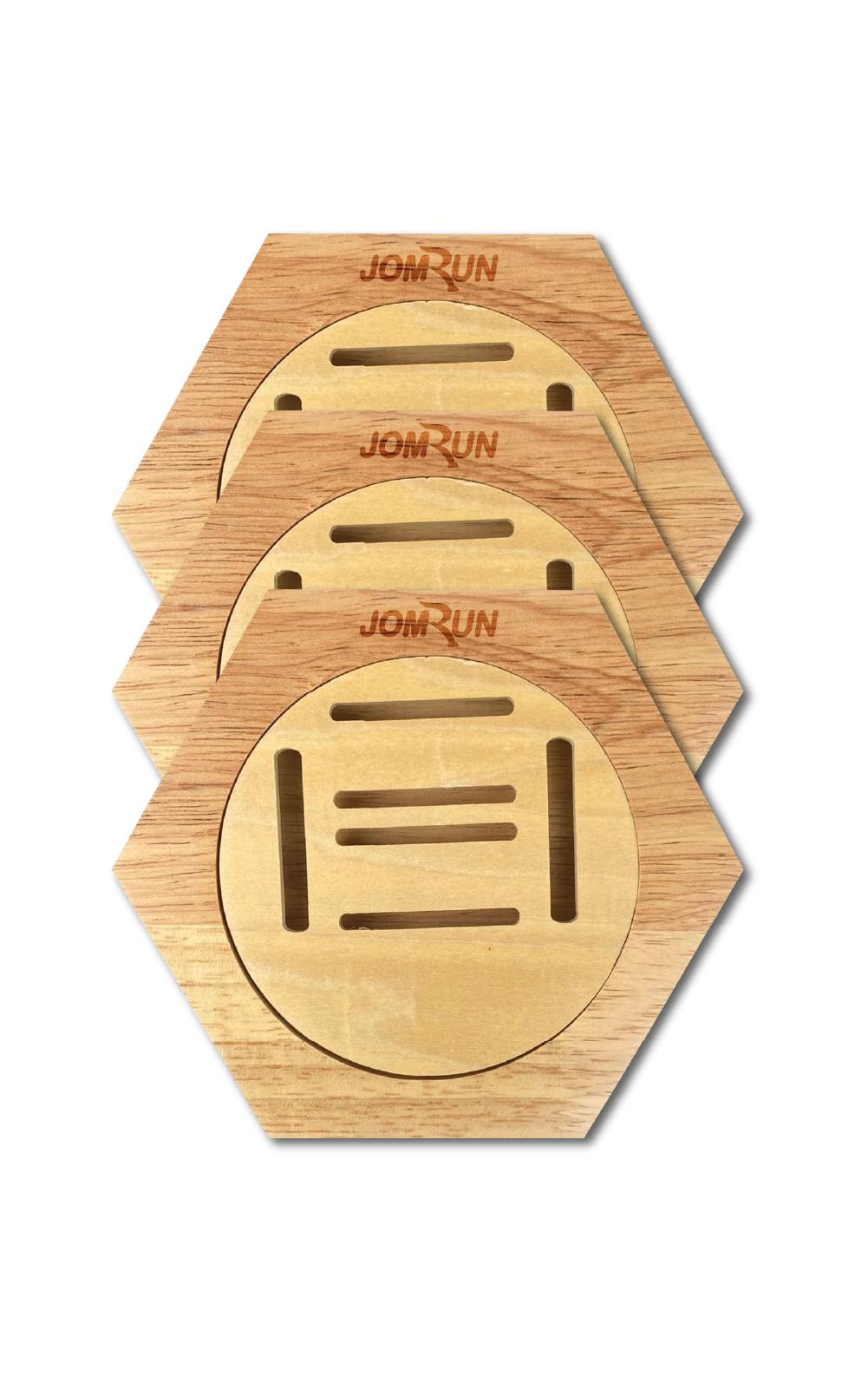 Honeycomb Medal Hanger (3PCS)