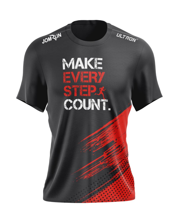 JomRun X Ultron Make Every Step Count Top