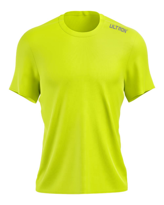 Ultron Pinhole Running Top - Neon Yellow