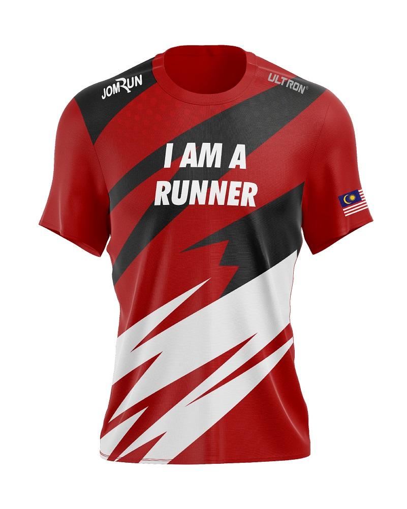 JomRun X Ultron I Am A Runner Shirt