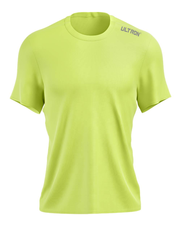 Ultron Pinhole Running Top - Lime