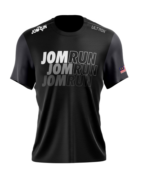 JomRun X Ultron Stygian Black Series – Alpha